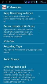 Call Tracker Lite - Spy apk screenshot