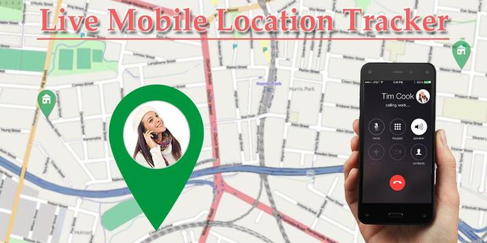 Live Mobile Location Tracker poster