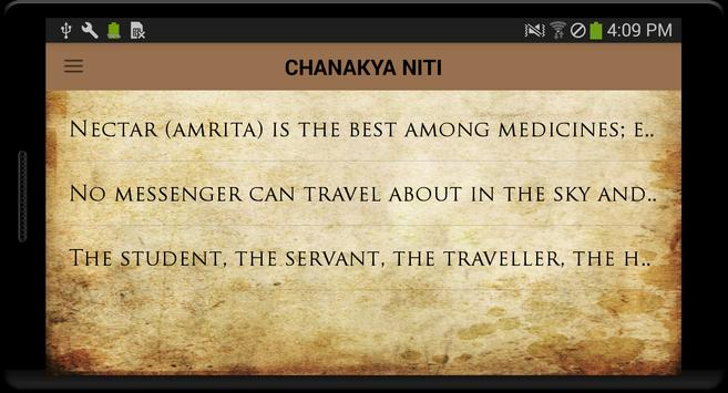 Chanakya Niti In English poster