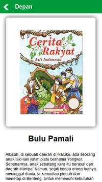 Cerita Rakyat Daerah Maluku apk screenshot