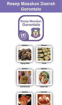 Resep Masakan Daerah Gorontalo poster
