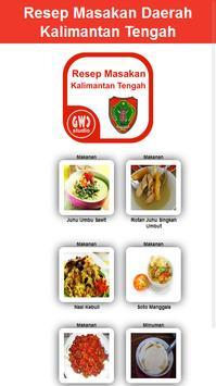 Resep Masakan Daerah Kal-Teng poster