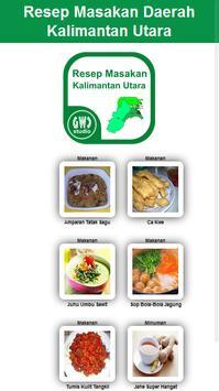 Resep Masakan Kalimantan Utara apk screenshot