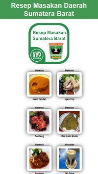Resep Masakan Sumatera Barat poster