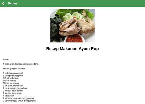 Resep Masakan Sumatera Barat apk screenshot