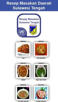Resep Masakan Sulawesi Tengah poster