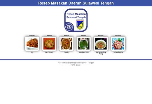 Resep Masakan Sulawesi Tengah apk screenshot