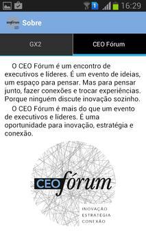 CEO Fórum apk screenshot