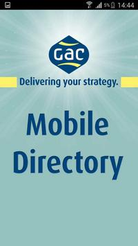 GAC Mobile Directory poster