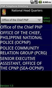 PNP Telephone Directory Ver 1 poster
