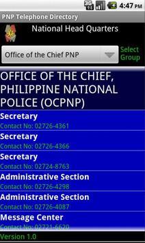 PNP Telephone Directory Ver 1 apk screenshot