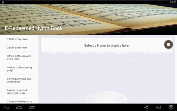 E-Redeemed Hymn Book Offline apk screenshot