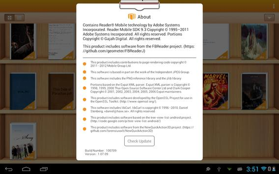 EpiReader apk screenshot