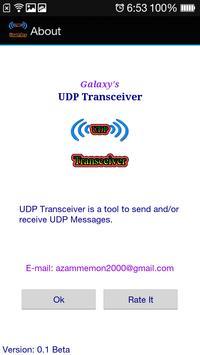 UDP Transceiver poster