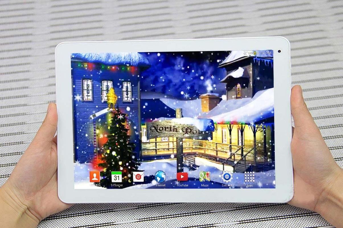using apkpure app to upgrade 3d christmas live wallpaper fast free
