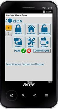 ALARME MEIAN ORION GSM/IP poster