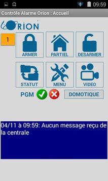 ALARME MEIAN ORION GSM/IP apk screenshot