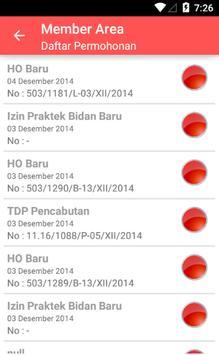Perijinan Surakarta apk screenshot