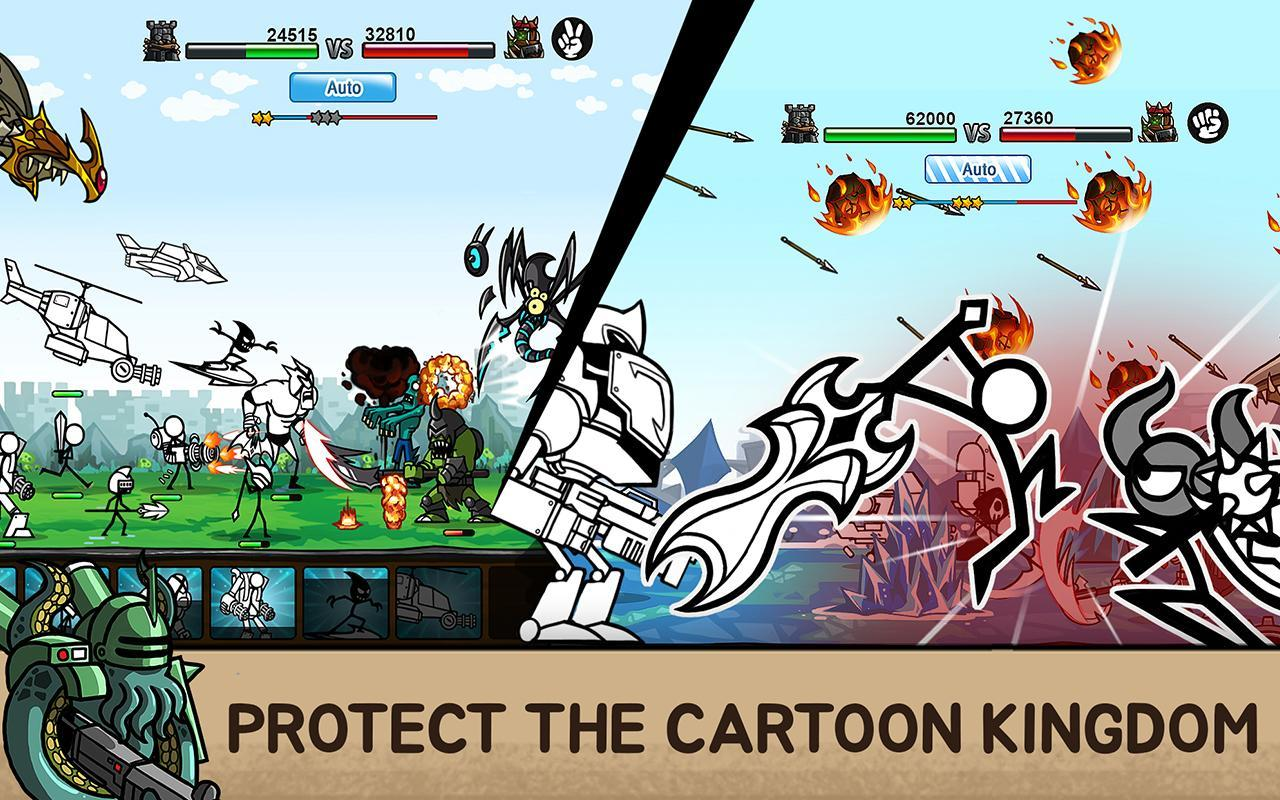 descargar cartoon wars 2 gratis (android)