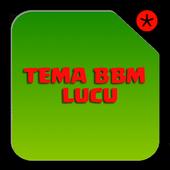 Tema BBM™ Lucu icon