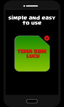 Tema BBM™ Lucu apk screenshot