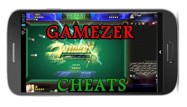 Tips cheats gamezer 8ball pOol poster