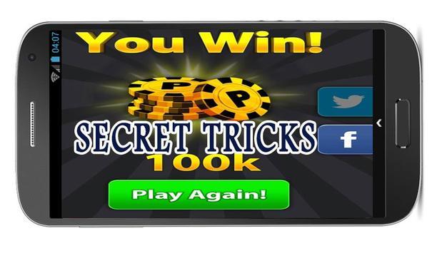 Tips cheats gamezer 8ball pOol apk screenshot