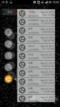 SAO Call Log apk screenshot