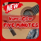 Kunci Gitar Five Minutes icon