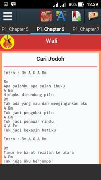 Kunci Gitar Wali apk screenshot