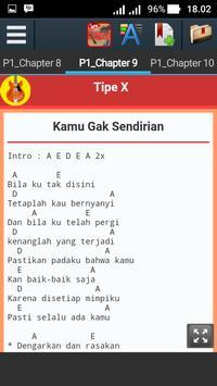 Kunci Gitar Tipe X apk screenshot