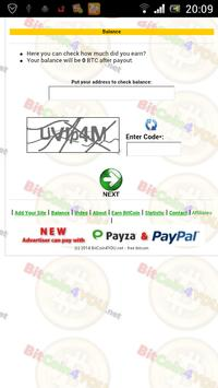 Free Bitcoin (Earn BTC/XBT) apk screenshot