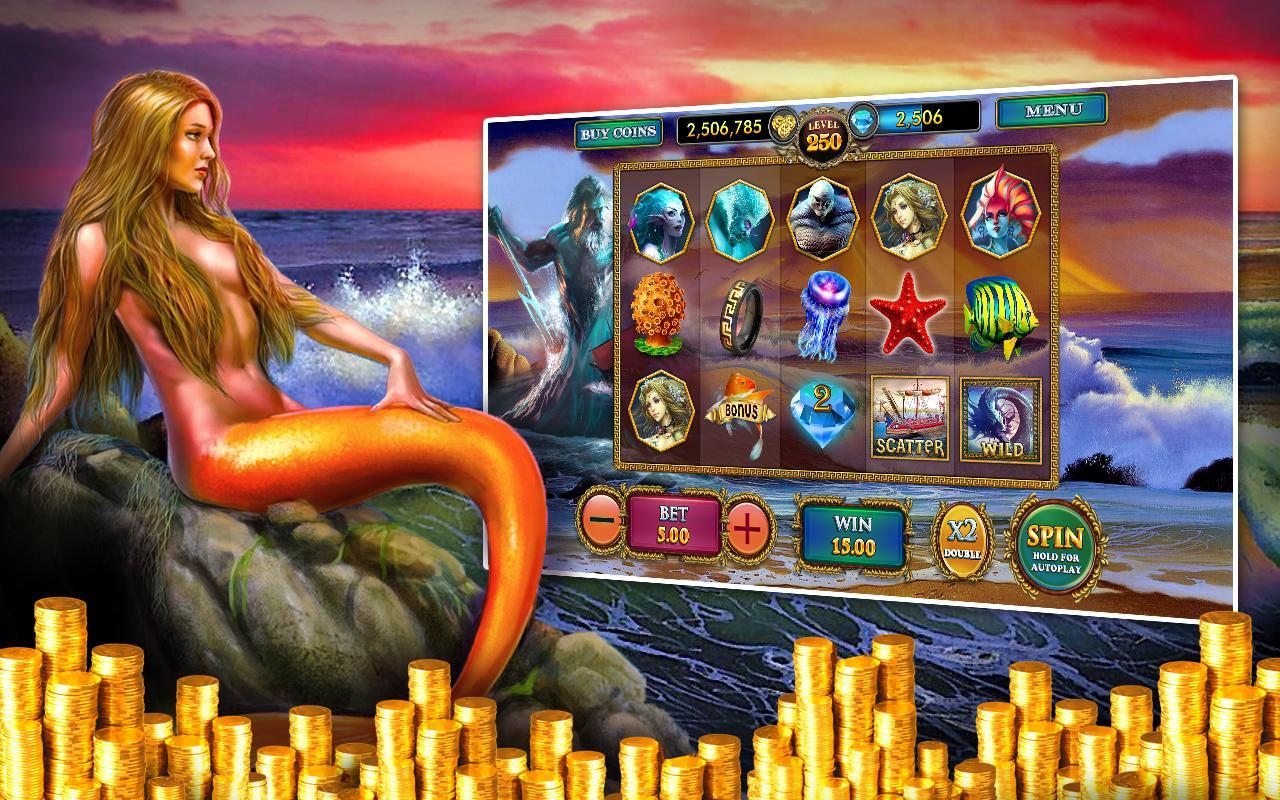 slots games - mermaids millions
