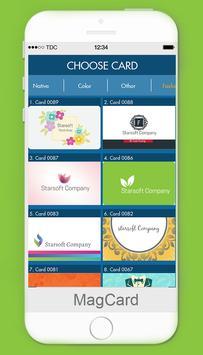 MagCards: Business Card Design apk screenshot
