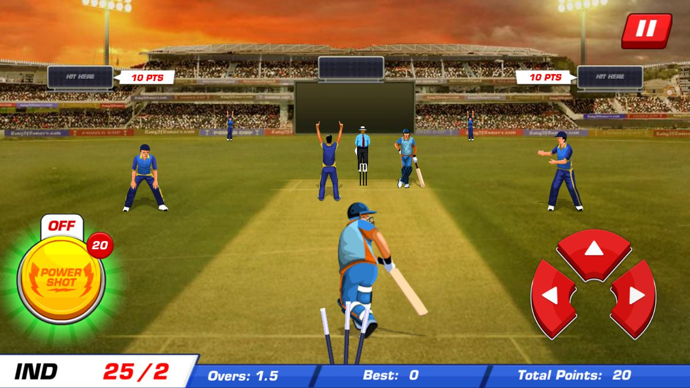t20 cricket Raise your bat for intense t20 cricket world cup matches as you play with your favorite team in world cup tournaments blast sixes, fours and unleash power-ups while batting and bowling your.