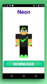 Skins Free for MCPE apk screenshot
