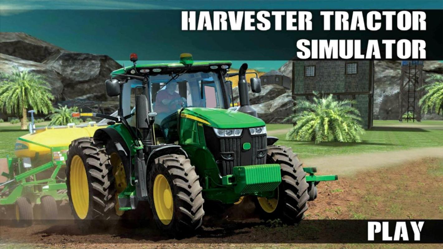 Tractor Simulator 2 : Harvester tractor simulator apk download free adventure