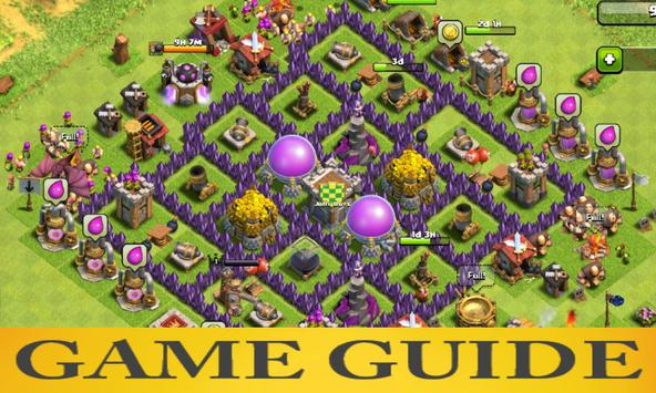 Game Guide for COC poster