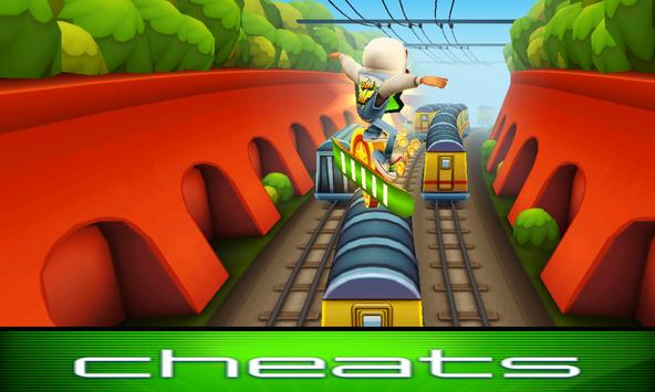 Cheats For Subway Surfers 2016 poster