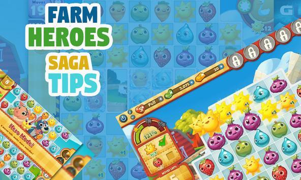 Tips for Farm Heroes Saga apk screenshot