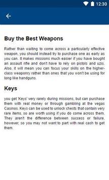 Guide for Gangstar Vegas apk screenshot