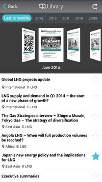 LNG Business Review poster