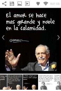 Garcia Marquez Quotes apk screenshot