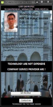 Technology For Public Masses poster