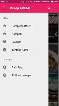 Resep ARKME apk screenshot