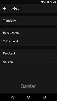 myDua - Hisnul Muslim apk screenshot