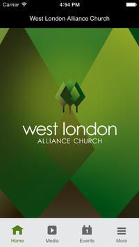 West London Alliance Church poster