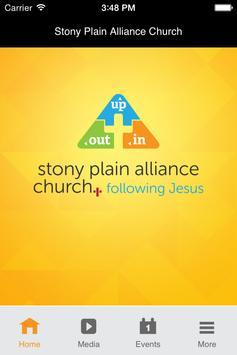 Stony Plain Alliance Church poster