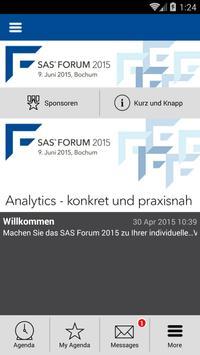 SAS Forum 2015 Bochum poster