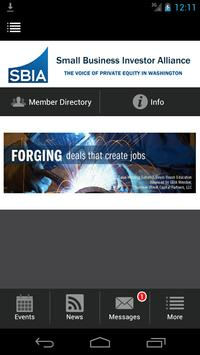 SBIA Small Business Investor poster